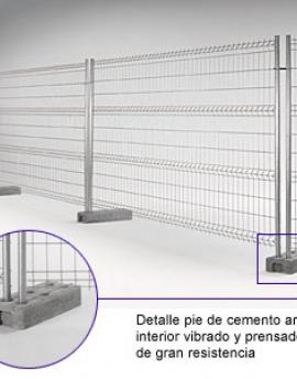 Cerramientos de parcelas y vallas maquinaria f lix jorge - Cerramientos de parcelas ...
